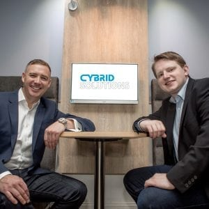 Phil and Oliver from Cybrid